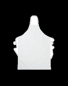 Food Industry Apron Large White W67cm x H97cm [780545]
