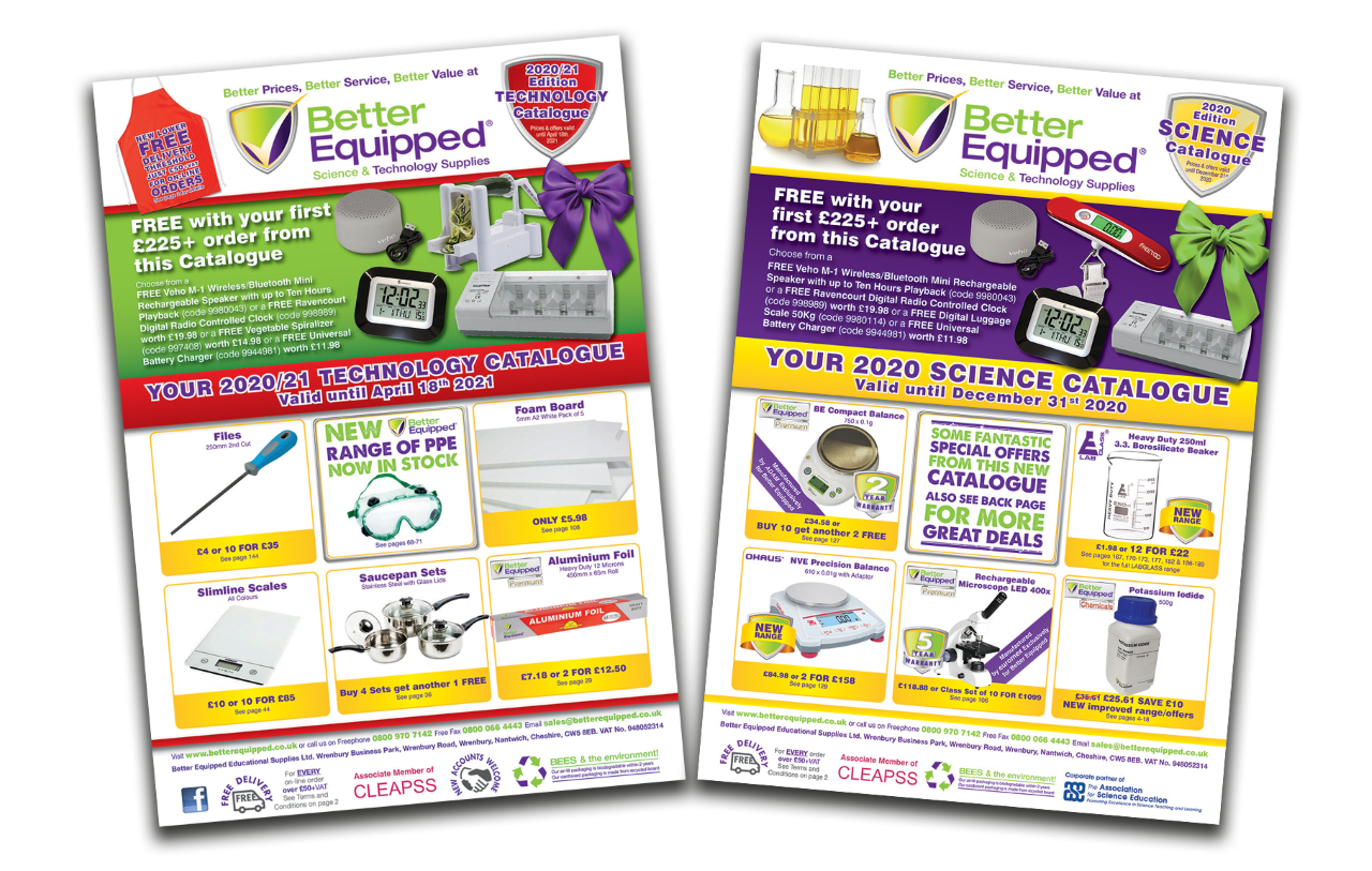 NEW 2020/2021 Technology Catalogue Out Now